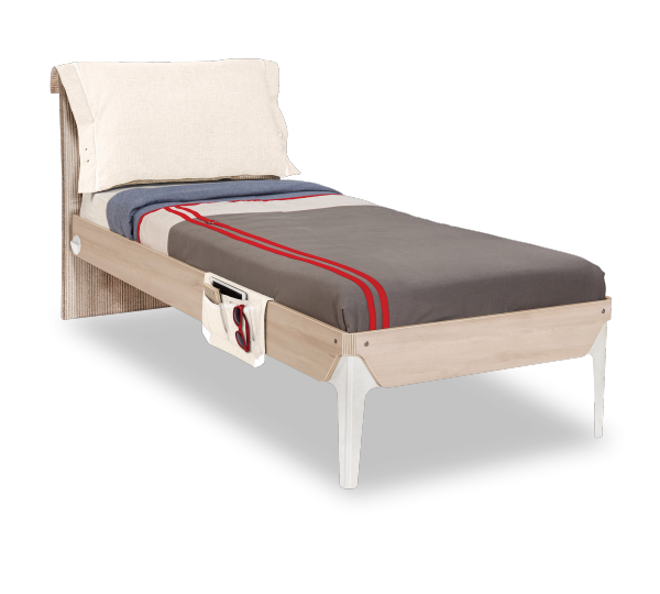 Cilek DUO Bett mit Kissen, 100x200 cm