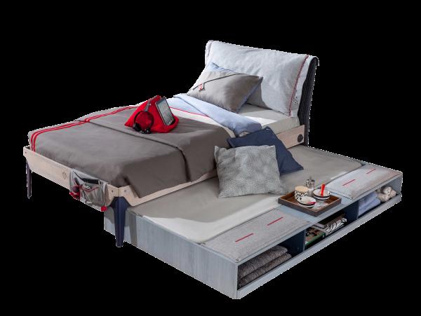 Cilek TRIO Bett inkl. Bettkasten mit Sitzfläche