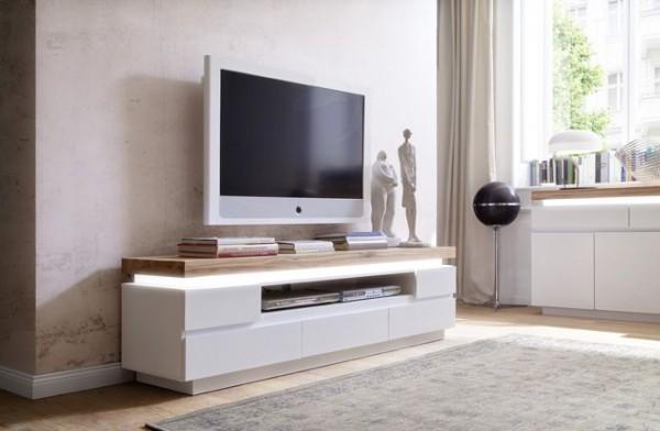 TV-Lowboard SILKE II, inkl. LED-Beleuchtung