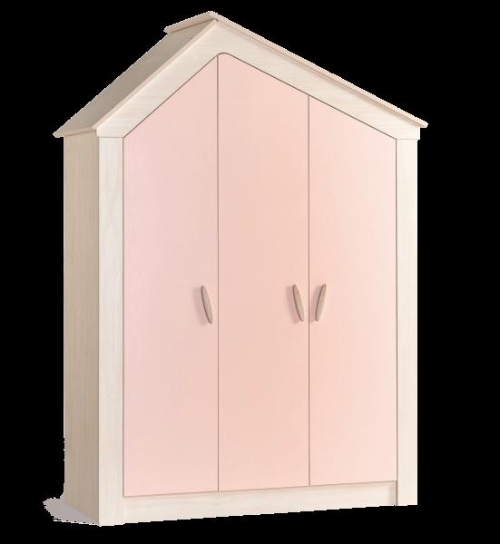 Kleiderschrank PINK HOUSE, 3-türig