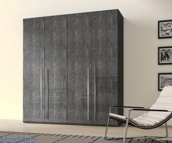 Kleiderschrank ELITE GREY BIRCH, italienische luxus Möbel