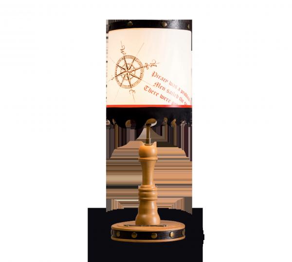 Cilek BLACK PIRAT Tischlampe
