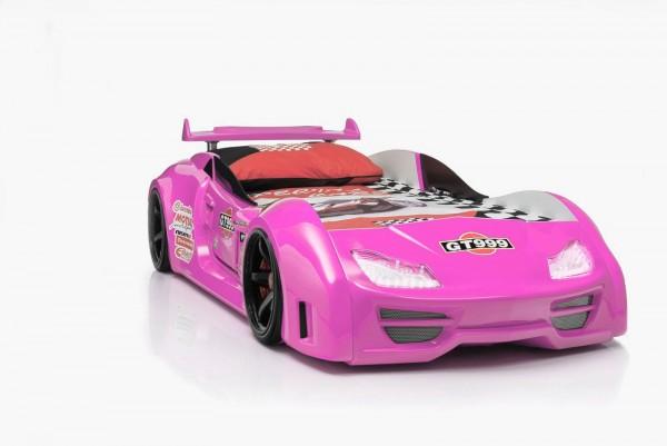 Autobett GT 999 Pink mit Sound + Fernbedienung