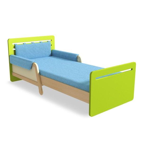 Timoore Kinderbett Simple ausziehbar in 4 Farben