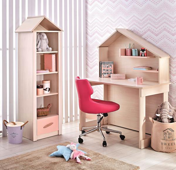 Kinderzimmer PINK HOUSE, 2-teilig
