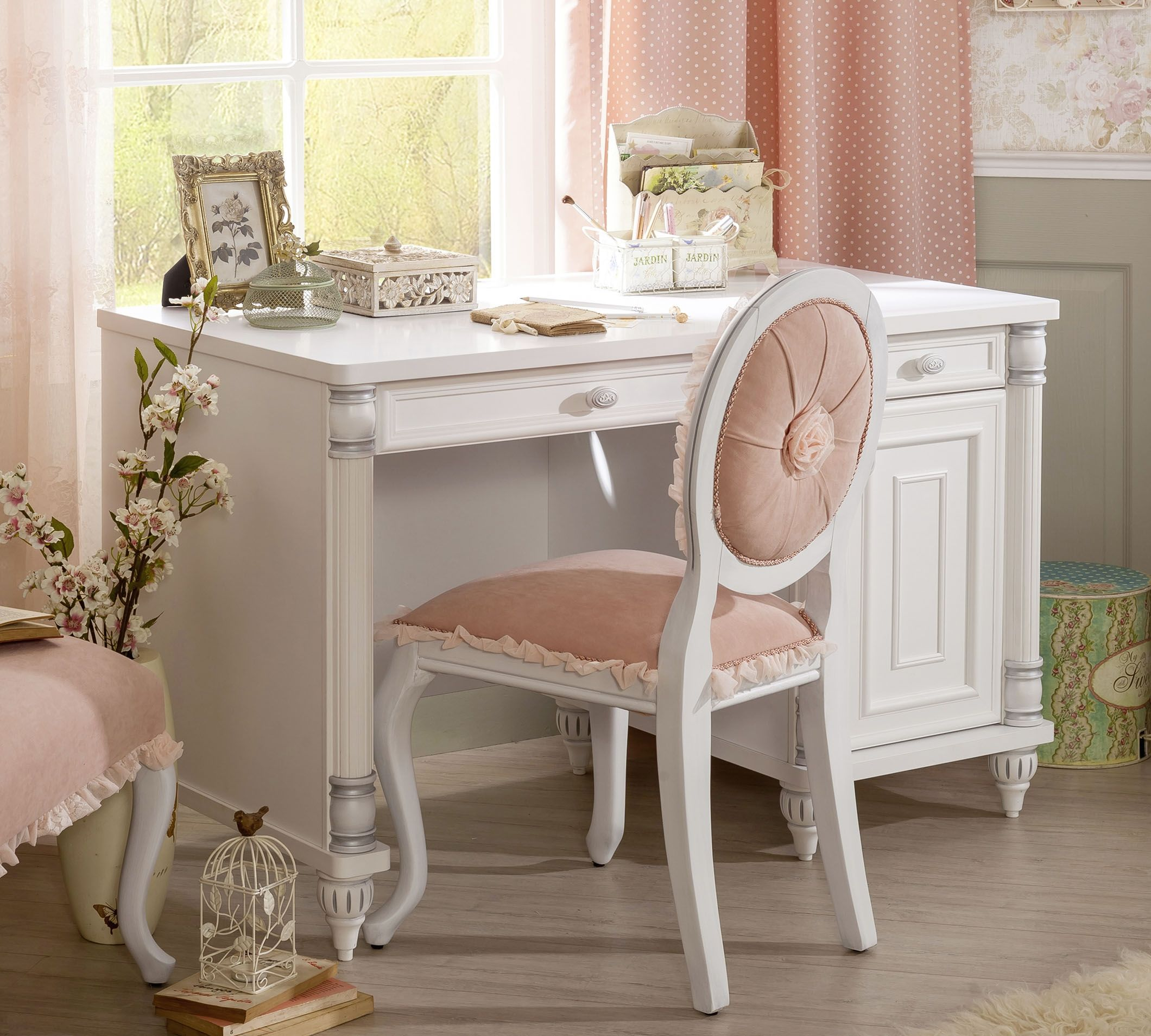 cilek romantic schreibtisch i m bel zeit. Black Bedroom Furniture Sets. Home Design Ideas