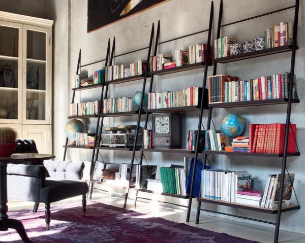 Bücherregal EASY, italienisches Design | Möbel Zeit