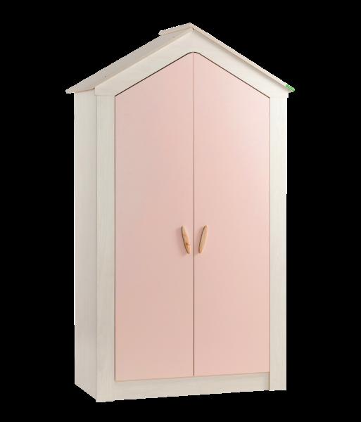 Kleiderschrank PINK HOUSE, 2-türig