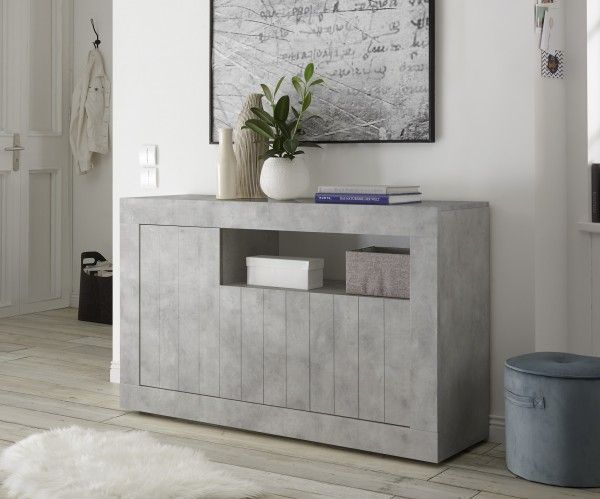 Sideboard/ TV-Möbel LEONELLO, Beton-Optik