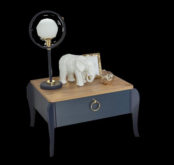 Almila ELEGANT BLUE Nachttisch
