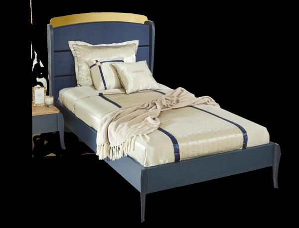 Almila ELEGANT BLUE Bett, 120x200 cm