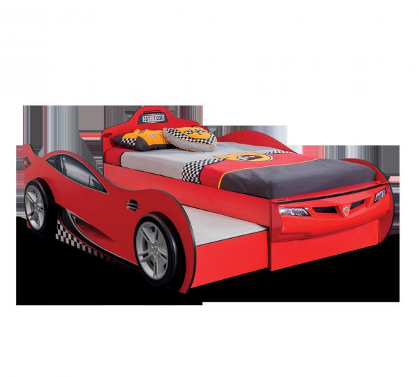 Cilek Racecup Autobett mit Zusatzbett