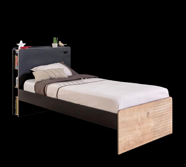 Cilek BLACK Bett, 100x200 cm