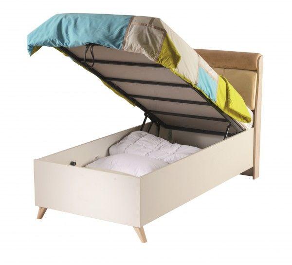 Alfemo Einzelbett Siena mit Bettkasten