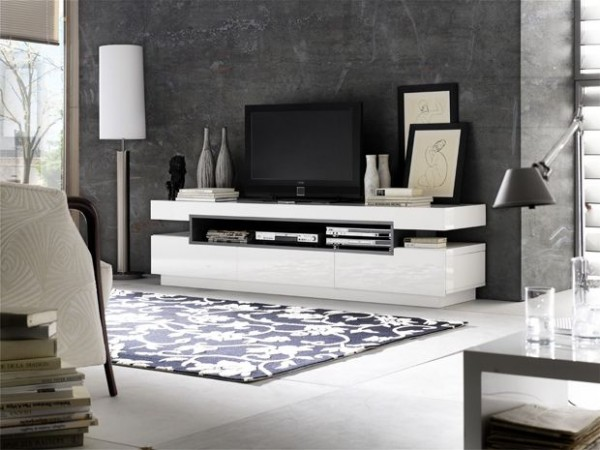 TV-Lowboard HANNELORE, Hochglanz