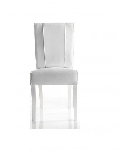 Stühle EMIDIO 2er Set, weiß