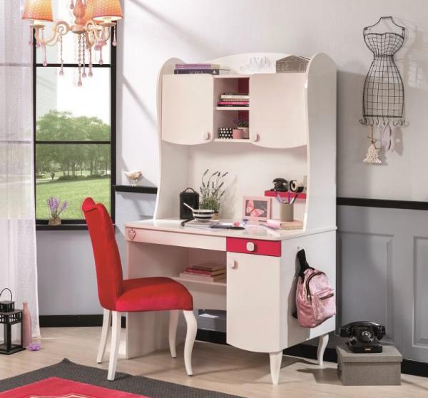 Cilek YAKUT Schreibtisch mit Aufsatz, klein