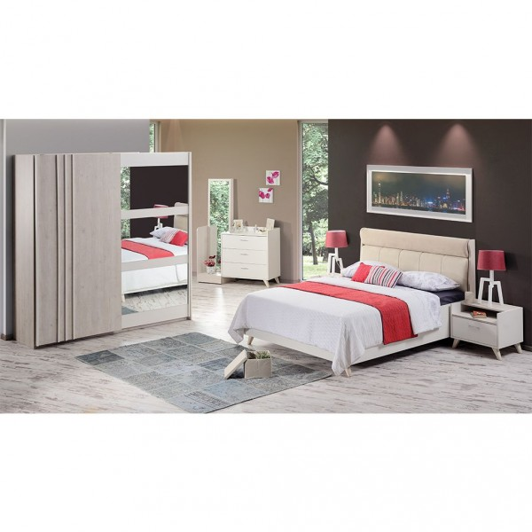 Schlafzimmer – Set Siena I, Kleiderschrank Schiebetüren