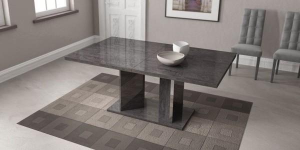Esstisch SARAH GREY BIRCH, italienische luxus Möbel