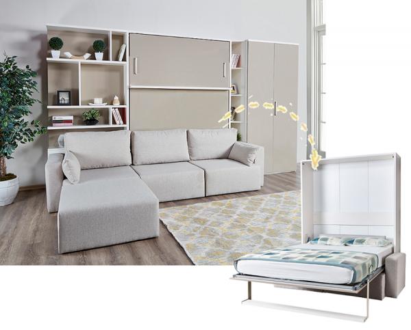 Multimo ROYAL Wohnwand mit Schrankbett und Sofa