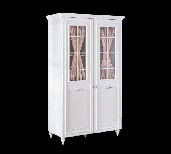 Cilek Kleiderschrank ROMANTIC mit Fenstertüren