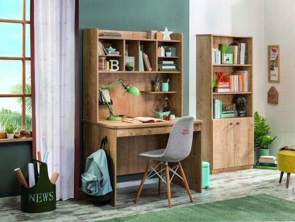 cilek mocha schreibtisch mit regalaufsatz m bel zeit. Black Bedroom Furniture Sets. Home Design Ideas