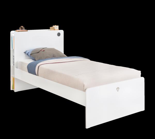 Cilek WHITE Bett, 100x200 cm