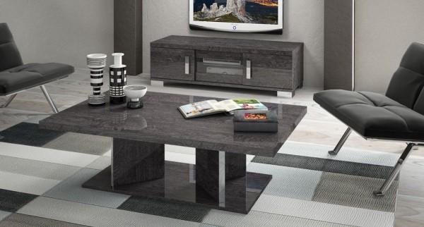 Wohnzimmertisch SARAH GREY BIRCH, italienische luxus Möbel