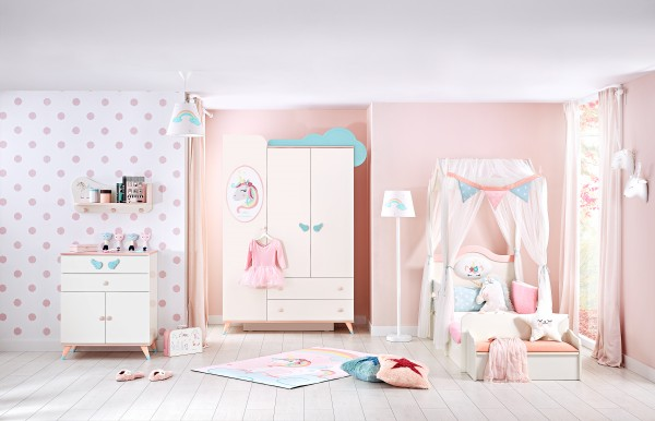 Kinderzimmer UNICORN, 4-teilig
