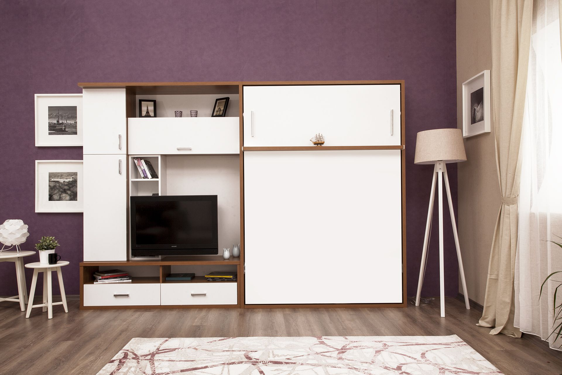 Bett Schrank Schreibtisch Kombination 2021
