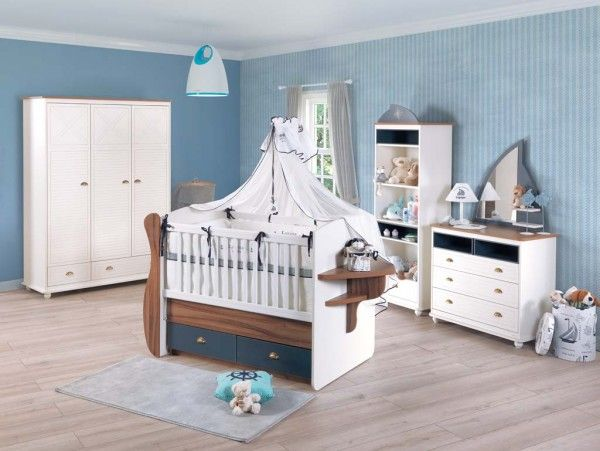 Alfemo Babyzimmer ADMIRAL, 3-tlg.