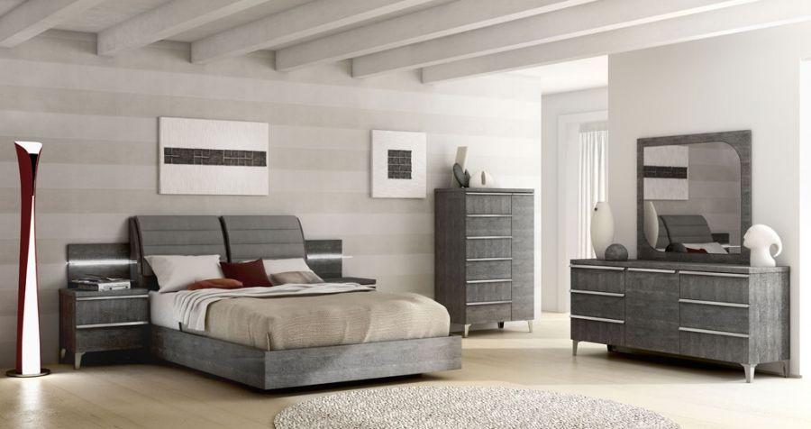 schlafzimmer set elite grey birch ii italienische luxus. Black Bedroom Furniture Sets. Home Design Ideas