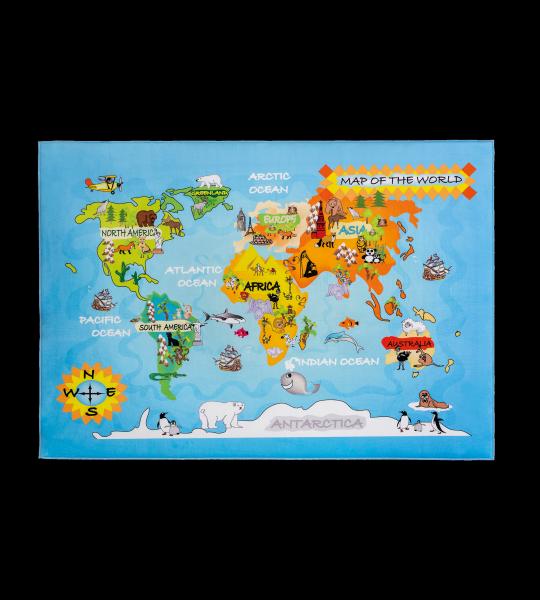 Cilek Spielteppich WORLD, 100 x 150 cm