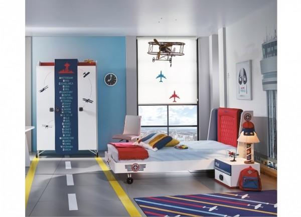 Almila PILOT Kinderzimmer, 3-teilig