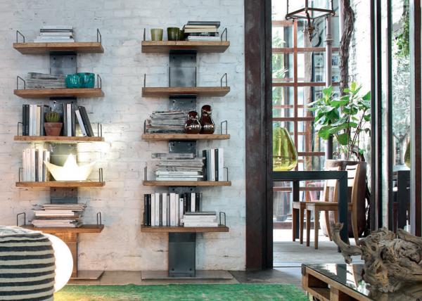 Bücherregal INFINITY, italienisches Design | Möbel Zeit