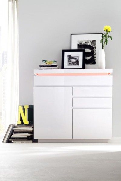 Sideboard RITA IV, inkl. LED Farbwechsel Beleuchtung