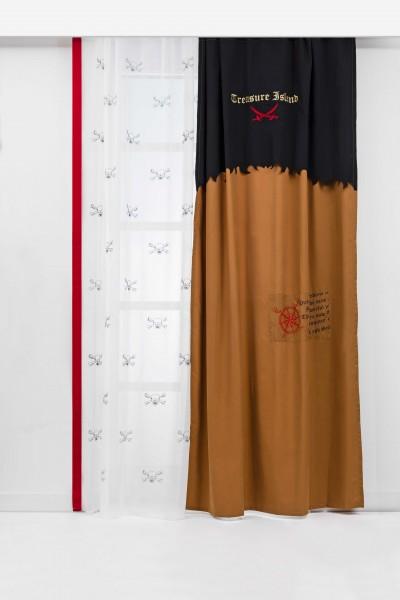 Cilek Black Pirate Vorhang