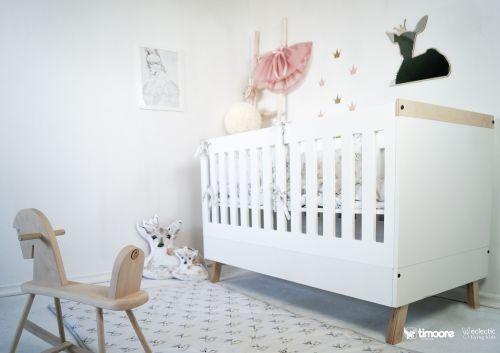 Mitwachsendes Babybett MAGI, 70x140 cm