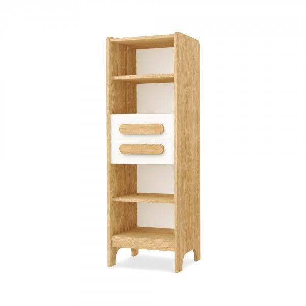 Timoore First Bücherregal mit 2 Schubladen in 5 Farben