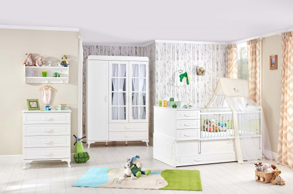 Babyzimmer SIMPLE, 4-teilig