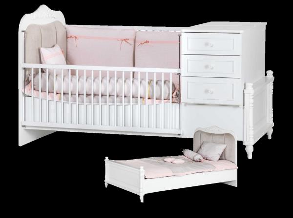 Mitwachsendes Babybett NIL