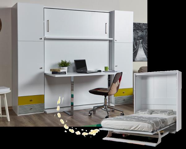 Multimo DIVA DOUBLE Set inkl. Bett, Schreibtisch und Schränke