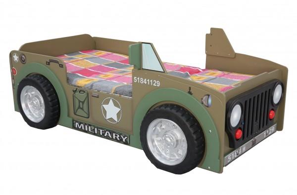 Autobett ROADSTER braun/grün, 90x190cm