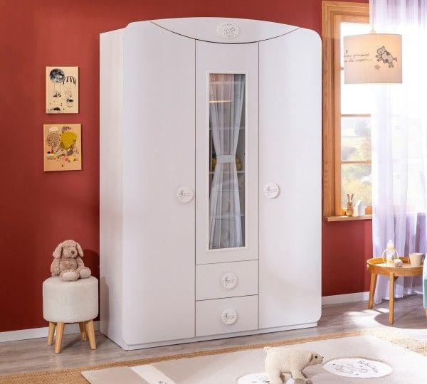 Cilek BABY COTTON Kleiderschrank mit Fenstertür