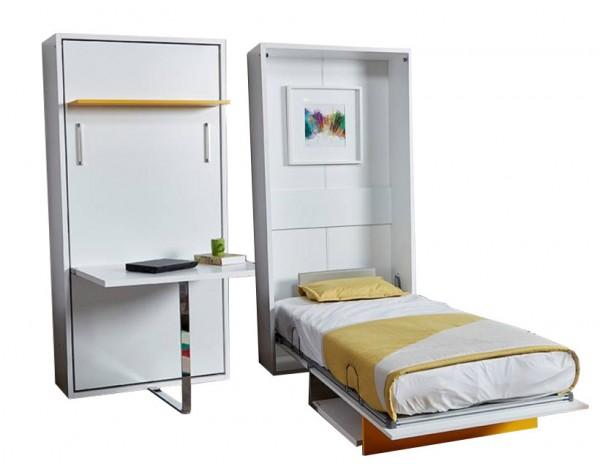Multimo DIVA HAPPY Wandbett mit Schreibtisch, 90x190 cm