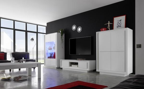 Wohnzimmer ADORATA in Weiß