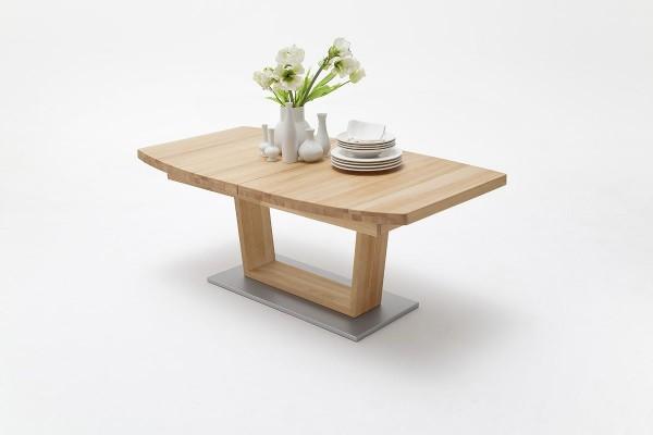 Esstisch, ausziehbar, 2 Größen, Bootsform