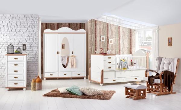 Babyzimmer TIFFANY, 3-teilig